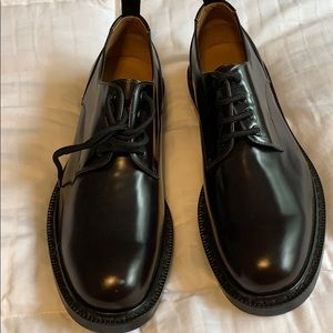 Marc Jacobs leather shoes brown color size 12